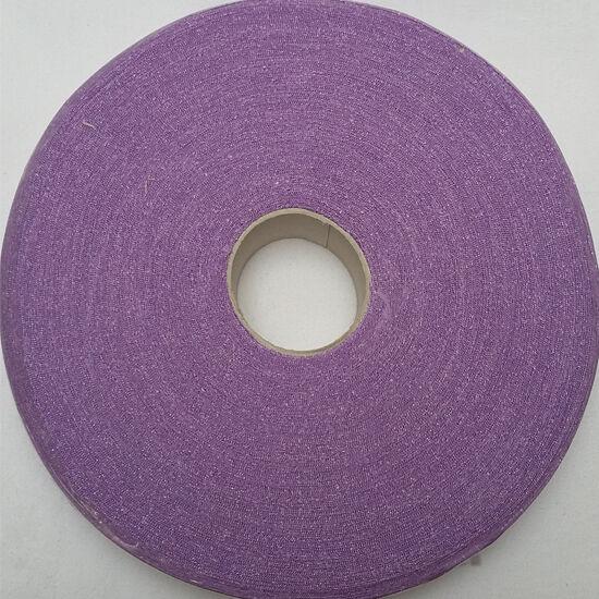 Fettuccia - lila fényes csíkos 610 g