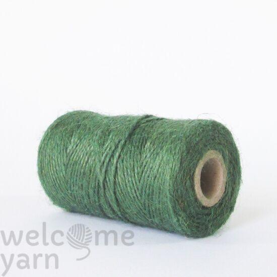 Juta fonal - zöld szín