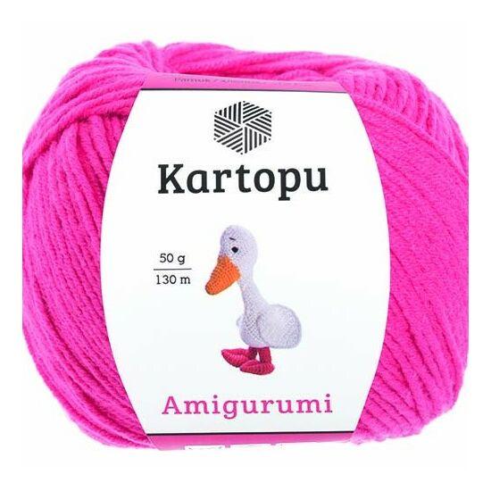 Amigurumi fonal -  pink