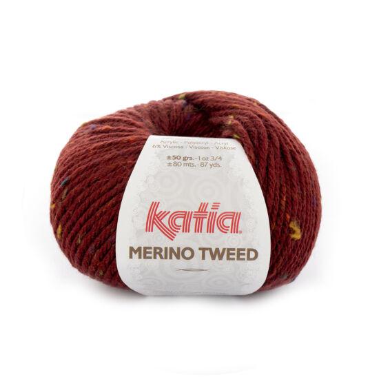 Katia Merino Tweed - Bordó