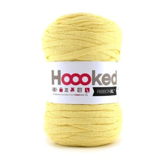 Hoooked szalagfonal  - Frosted Yellow- Ribbon XL