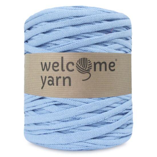 Welcomeyarn pólófonal - Világos kék piké