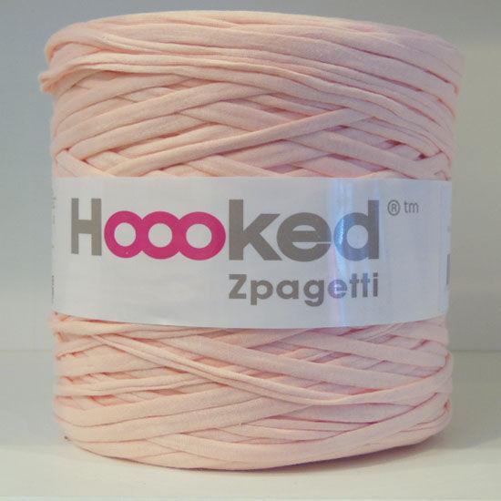 Zpagetti pólófonal - barackos rózsaszín