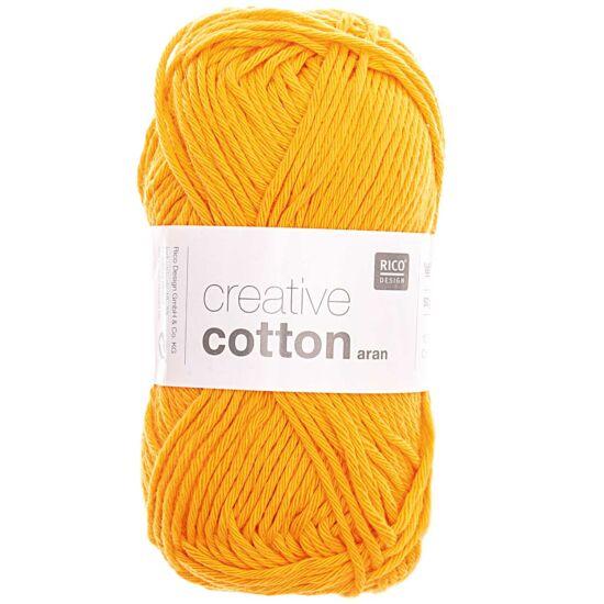Rico Creative Cotton 100% vastag pamut - mandarin