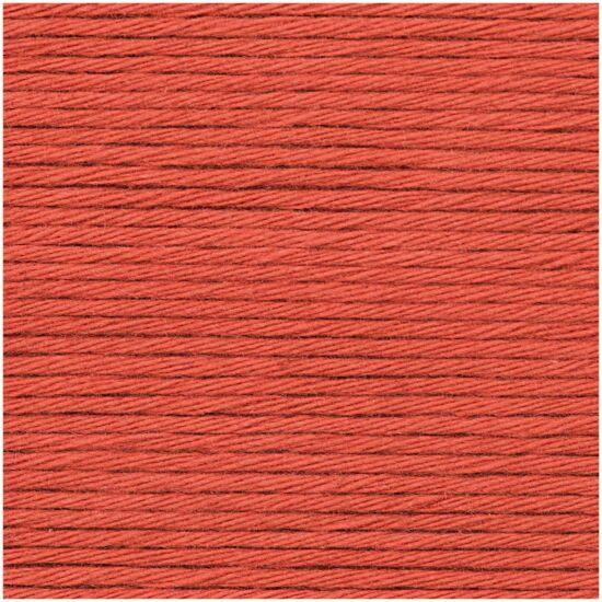 Rico Creative Cotton 100% vastag pamut - rókavörös