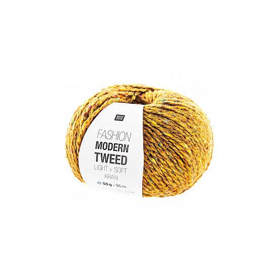 Rico Fashion Modern Tweed - mustár