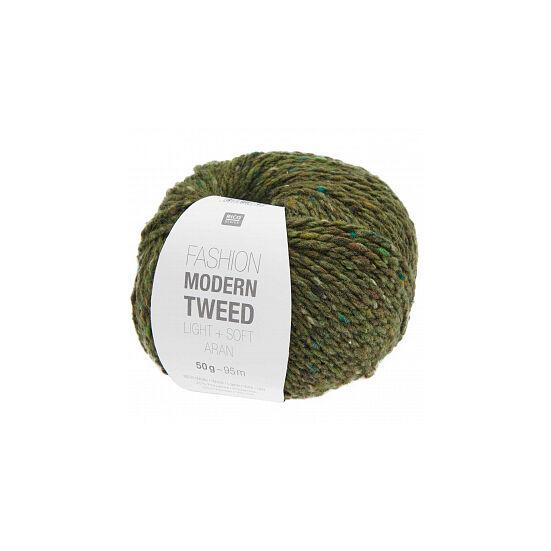 Rico Fashion Modern Tweed - oliva