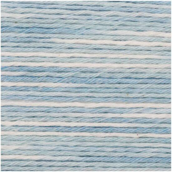 Rico Baby Cotton Soft Print - Világoskék-fehér