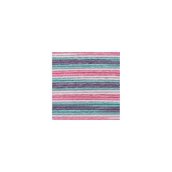 Rico Baby Cotton Soft Print - Pink-türkisz