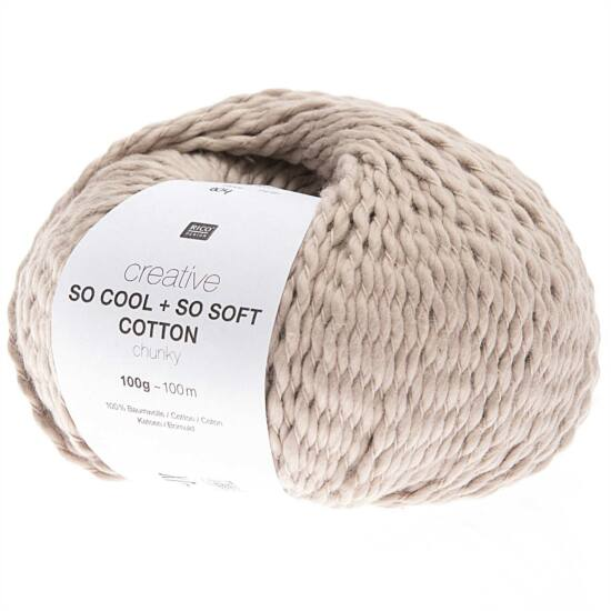 Rico So Cool + So Soft Cotton Chunky - pearl