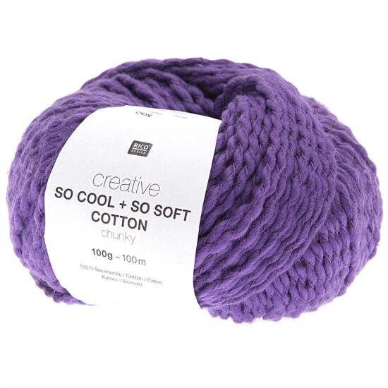 Rico So Cool + So Soft Cotton Chunky - purple