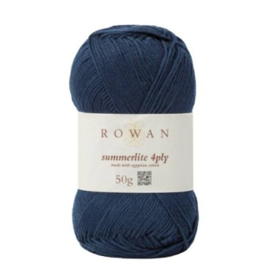 Rowan Summerlite 4 ply - 429 Navy Ink