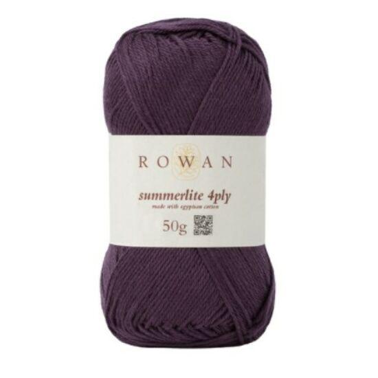 Rowan Summerlite 4 ply - 432 Aubergine