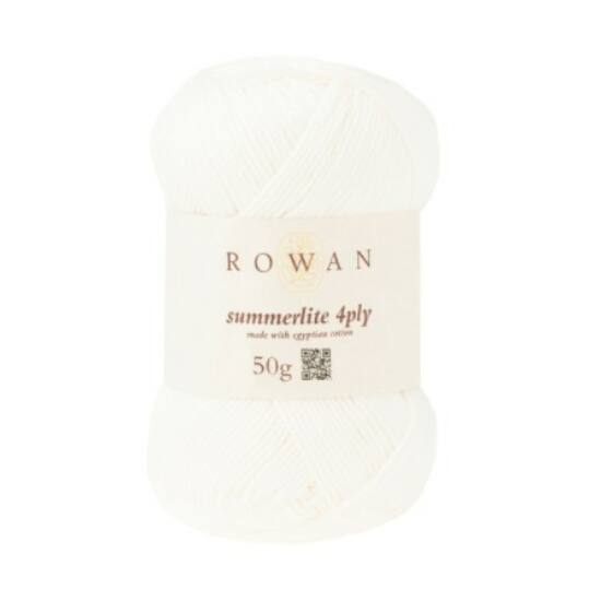 Rowan Summerlite 4 ply - 436 Ecru
