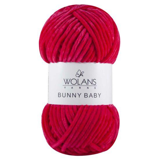 Bunny Baby plüssfonal - sötét pink