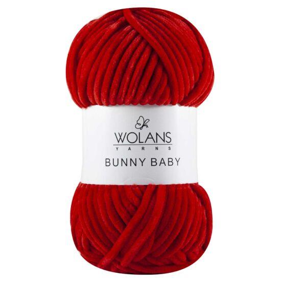 Bunny Baby plüssfonal - piros