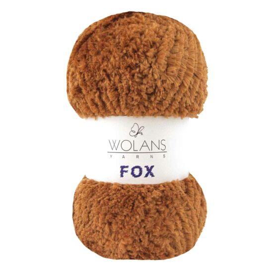 Wolans Fox szőrös fonal - terrakotta