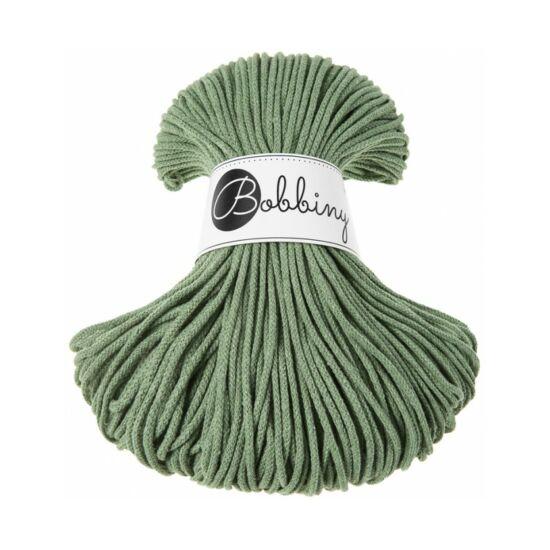 Bobbiny Zsinórfonal Junior 3 mm- 100 m - Eucalyptus Green