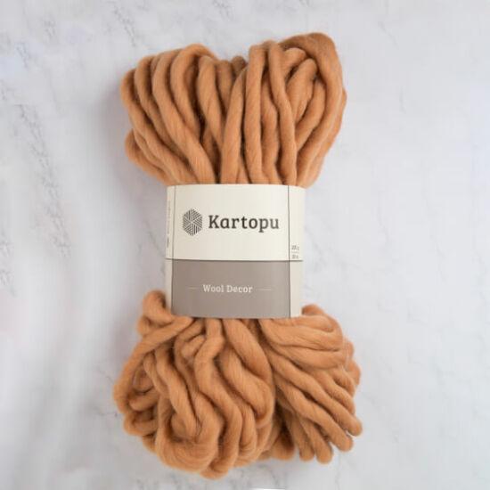 Kartopu Decor Wool 100% gyapjú fonal - barna