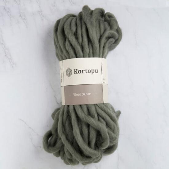 Kartopu Decor Wool 100% gyapjú fonal - sötétzöld