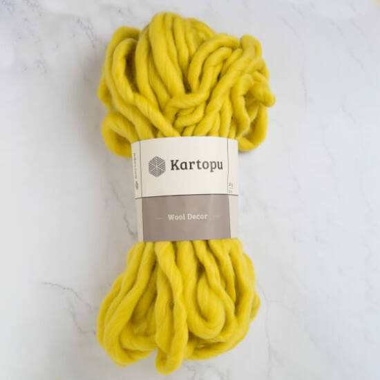 Kartopu Decor Wool 100% gyapjú fonal - lime