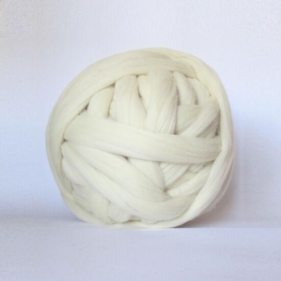 Merinó gyapjú, szalaggyapjú - natúr szín 1 kg