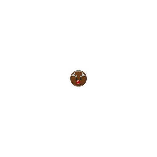 Dill gomb - 18 mm - Rudolf, a rénszarvas