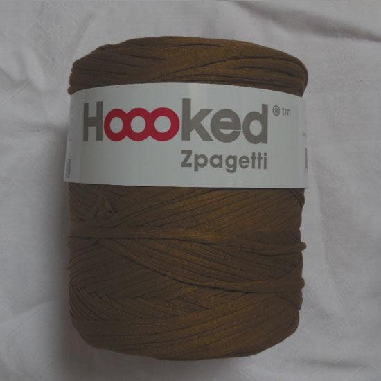 Zpagetti pólófonal - sötét földszín