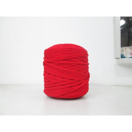 WelcomeYarn pólófonal - piros fényes, elasztikus