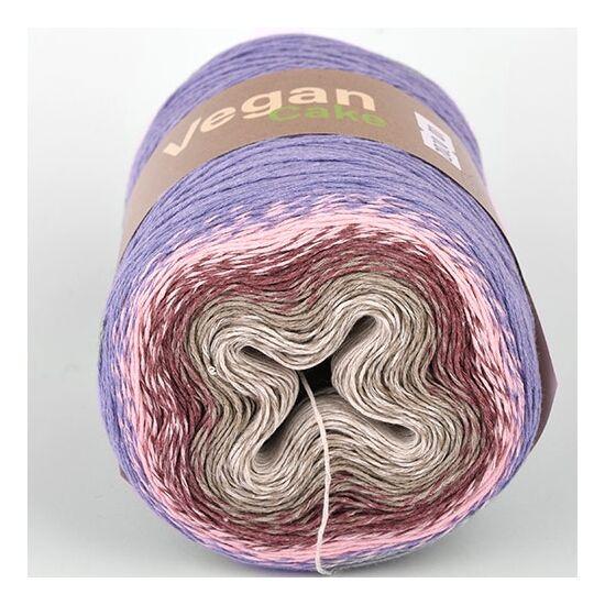 Vegan Cake színátmenetes kendőfonal újrahasznosított - 2020